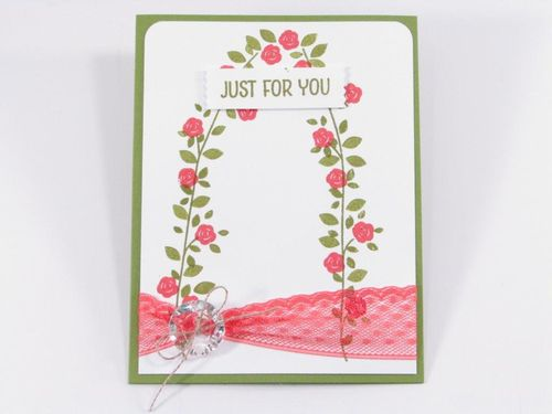 7 - Just for you card - Carol Matthews