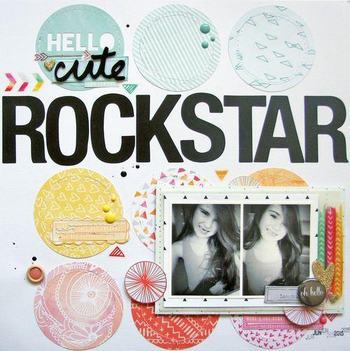 Hello cute rockstar
