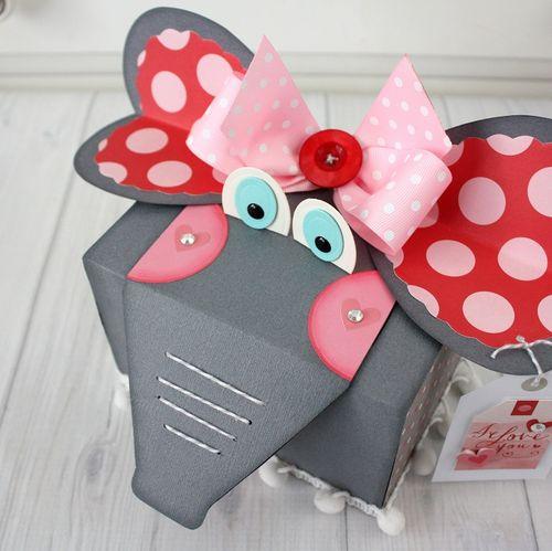 Shellye McDaniel-Elephant Valentine Treat Box8