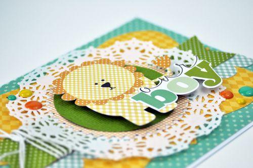 Our Boy Lion Card Close Up Photo by Jen Gallacher