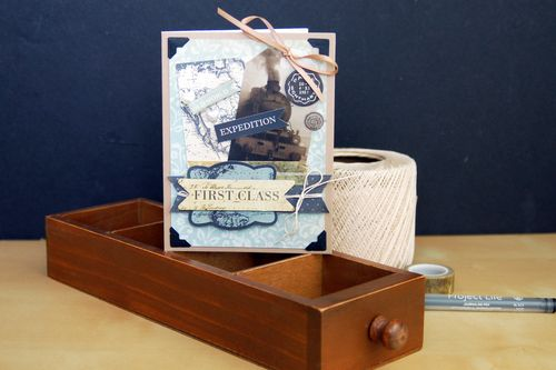 First Class Travel Card by Jen Gallacher