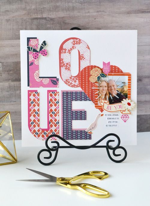 LOVE layout by Aly Dosdall 1