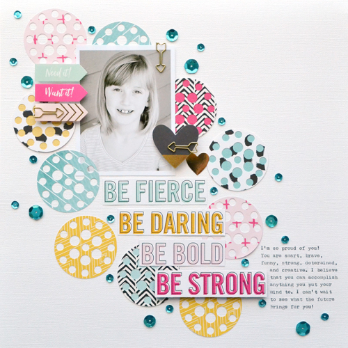 Be Strong Layout by Aly Dosdall 1