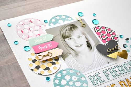 Be Strong Layout by Aly Dosdall 2