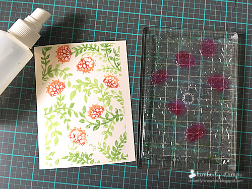 Kimberly Crawford 1 stamp 3 ways coloring the stamped image 3