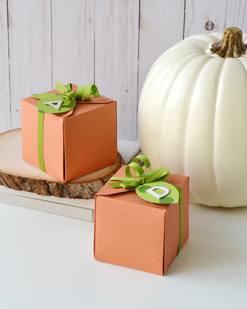 Pumpkin Gift Boxes by Aly Dosdall 1