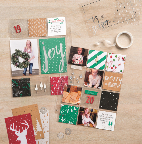 Stampin' Up! Hello December Beauty