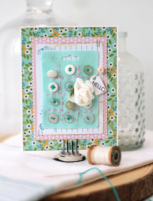 Stitched-felt-button-card-hello-card
