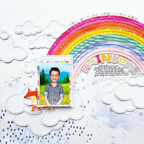 Sunshine & Rainbows by Paige Evans2