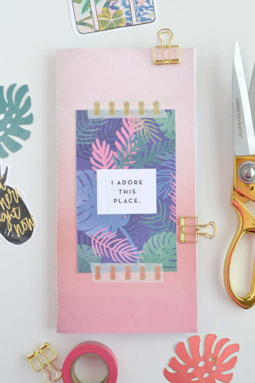 DIY Traveler's Notebook by Aly Dosdall 1