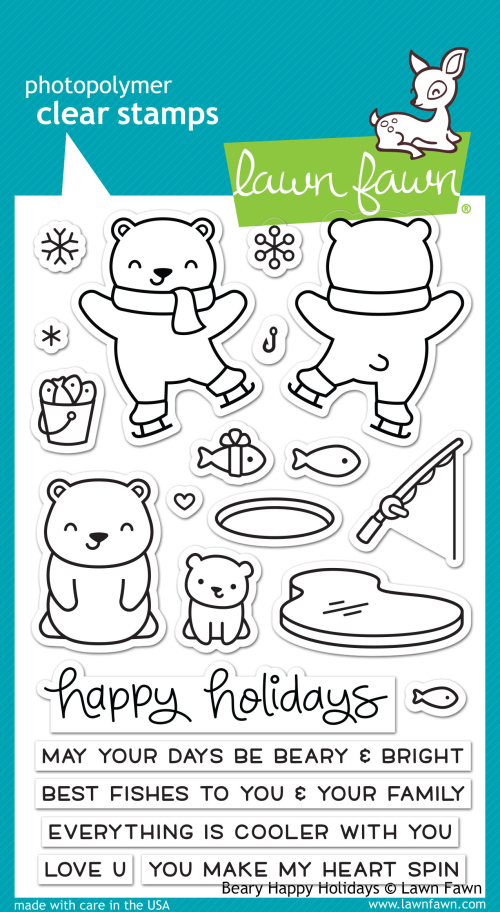 Beary Elements stamps
